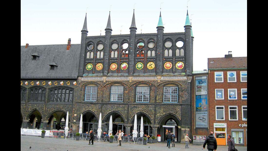 Die Zahl backsteingotischer Bauwerke in Lübeck ist groß und prägt das Stadtbild in einzigartiger Weise.