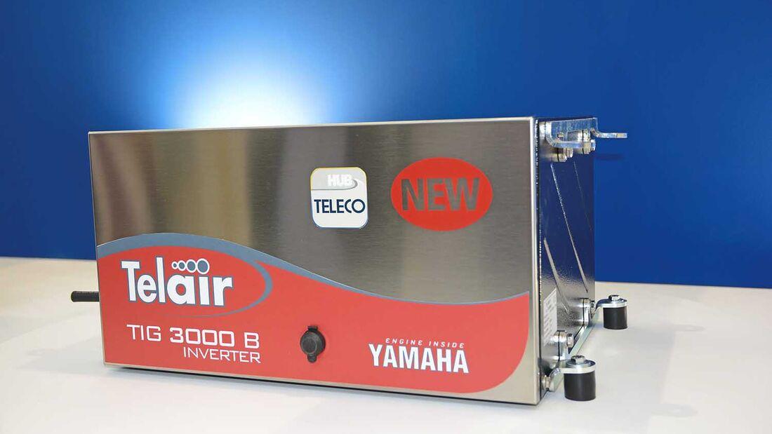 Die neue Generation von Stromgeneratoren von Teleco, sorgt für genug Strom auf jeder Reise, egal ob mit Gas oder Benzin.