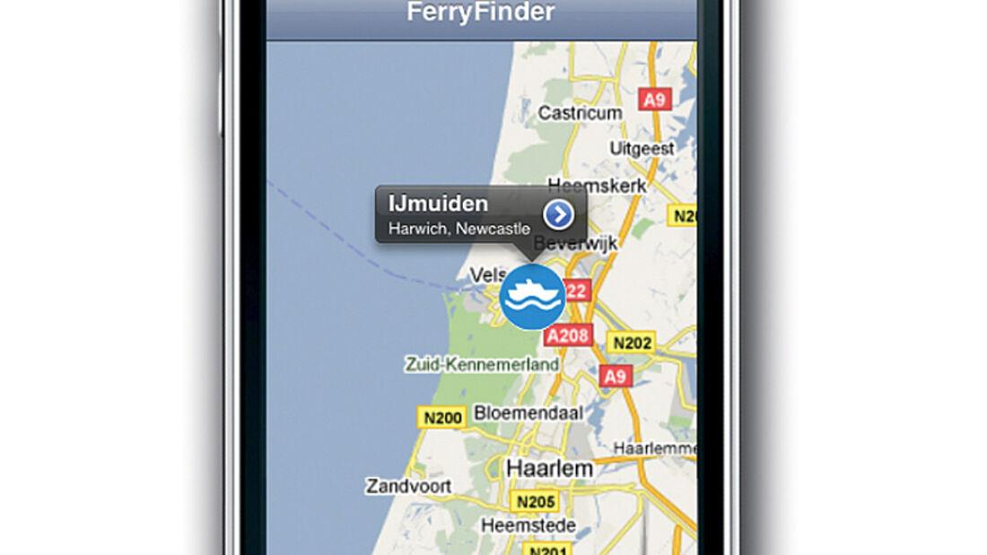 Die neue Reise-App FerryFinder findet alle Fährverbindungen in Europa, hilft bei der Buchung – und zeigt den besten Weg zum Hafen