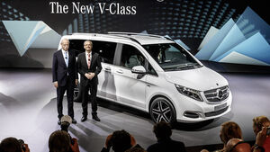 Die neue V-Klasse. Weltpremiere 2014, The New V-Class. World Premiere 2014