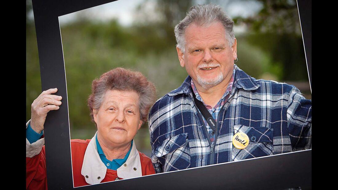 Die stolzen Besitzer: Anna und Harald Steger