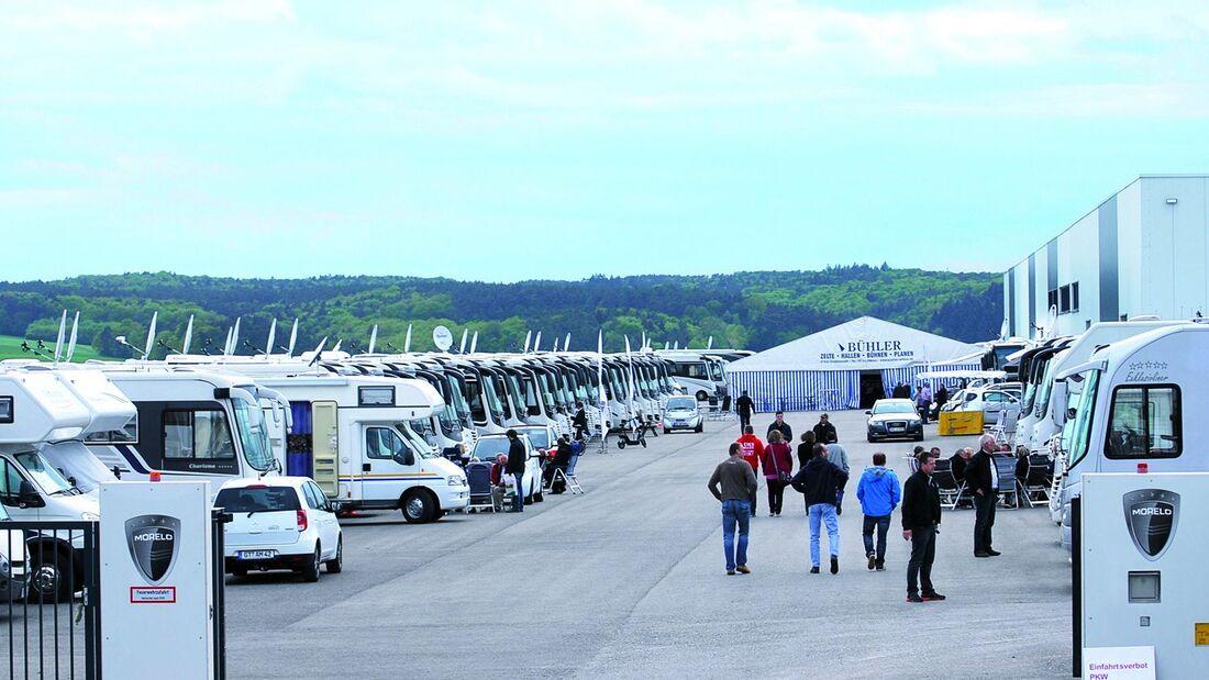 Die zweiten markenoffenen Show- und Festtage lockten über 500 Besucher und rund 180 Reisemobile nach Schlüsselfeld.