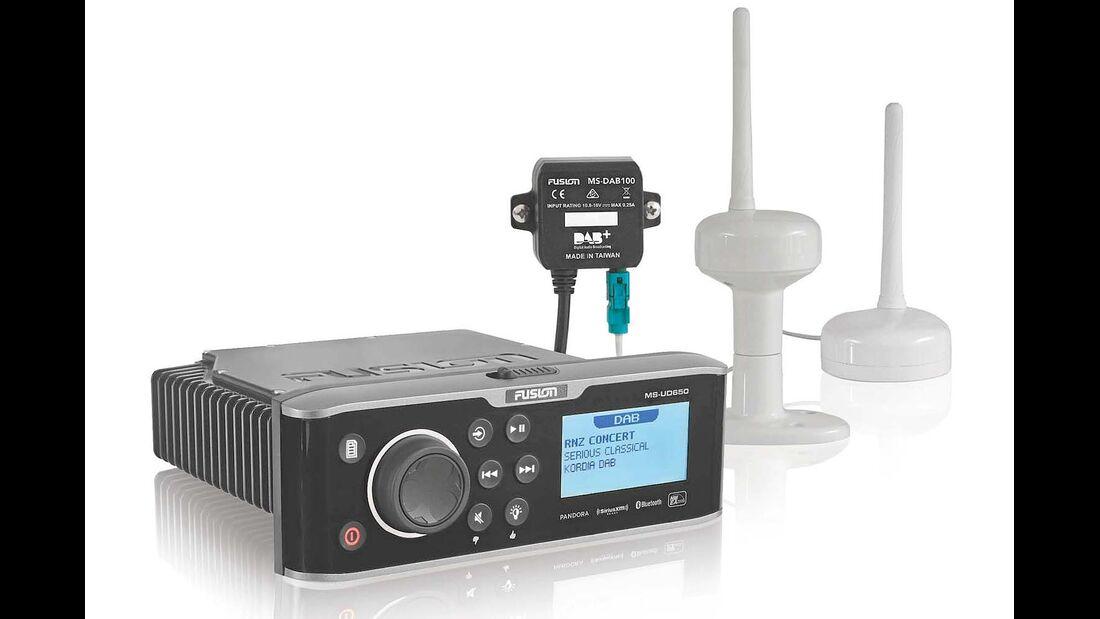 Digitale Radios von Fusion können in Zukunft auch das digitale Radio DAB+ empfangen.
