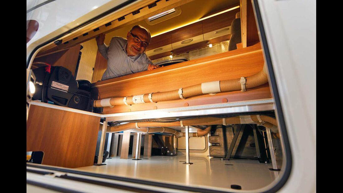 Doe Activa-One Serie ist eine der günstigsten Baureihen mit klassischer Doppelboden-Konstruktion.