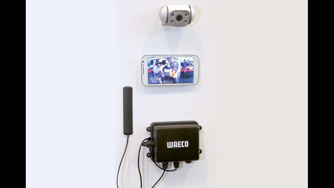 Dometic- Waeco bringt ein neues Funk-Rückfahrkamerasystem für Smartphones auf den Markt.