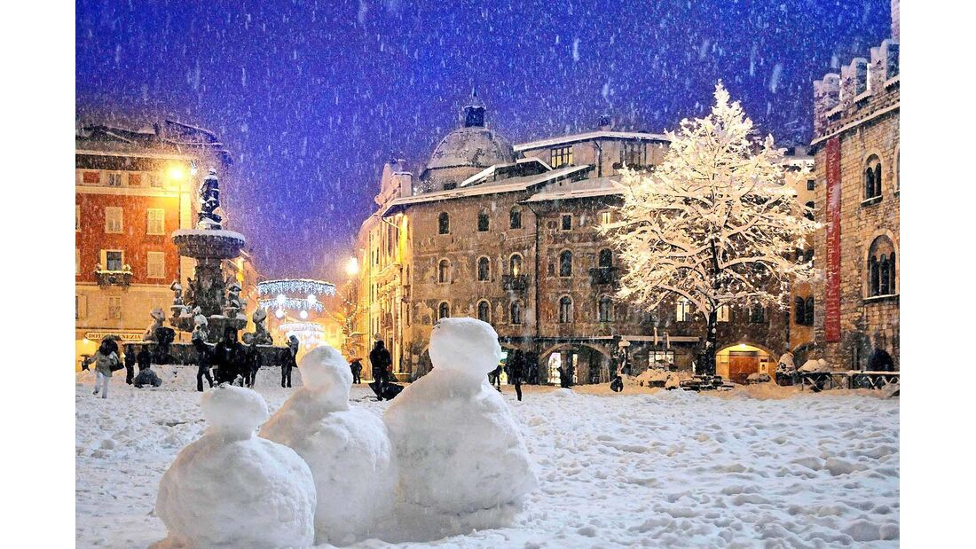 Domplatz in Trento.