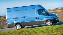 Durch den guten Fahrkomfort eignet sich der Daily auch für leichtere Reisemobile.