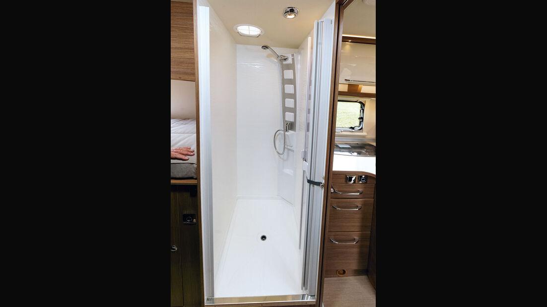 Dusche im Itineo JB 700