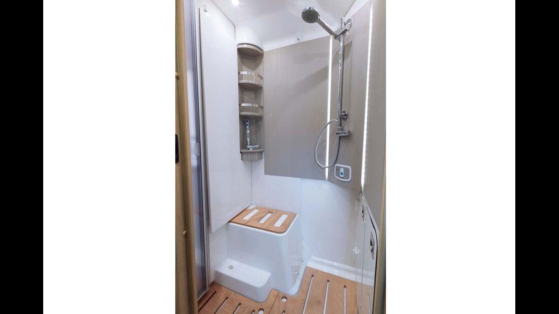 Dusche im Niesmann+Bischoff Smove