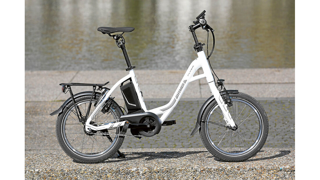 E-Bike Hymer mit tiefem Einstieg