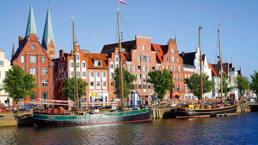 Ehrwürdige Bauten künden noch heute vom Stolz der Hanse.