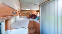 Ein  Bett ist 1,98 m lang, das Andere nur 1,82 m.
