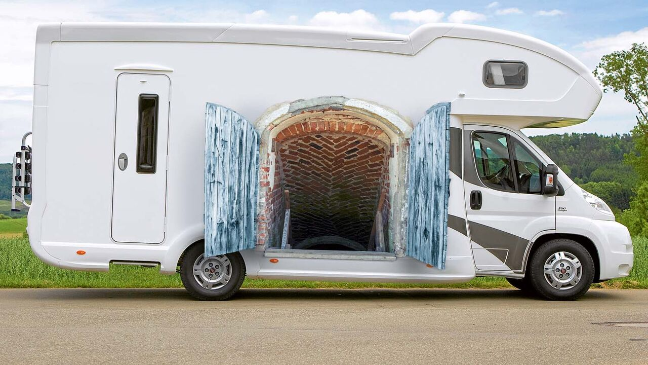 Reisemobil mit Doppelboden: Der Keller muss mit  Promobil