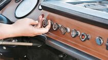 Ein Zug an dem Knopf  startet den Dieselmotor.
