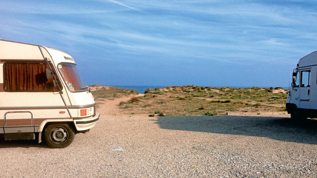 Ein ideales Quartier direkt am Strand.