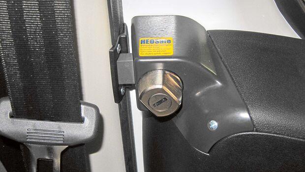 Einbruchsschutz Fahrerhaustür