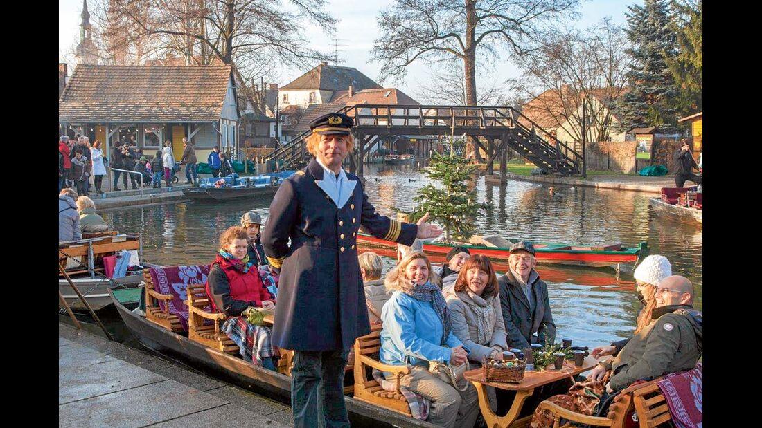 Eine schöne Boots-Tour im Spreewald.