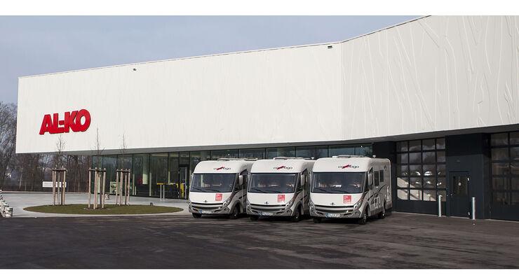 Einen neuen Service bietet AL-KO ab März in Kleinkötz: den ausführlichen Test von Fahrwerksaufwertungen.
