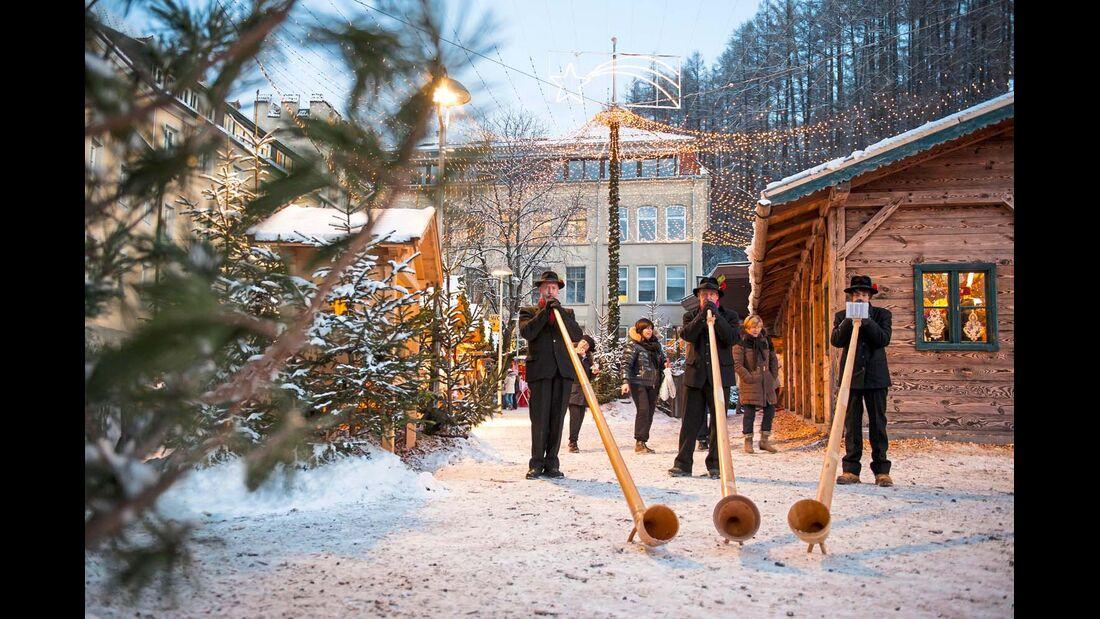 Einige Veranstaltungen in der Region zur Adventszeit sind besonders stimmungsvoll.