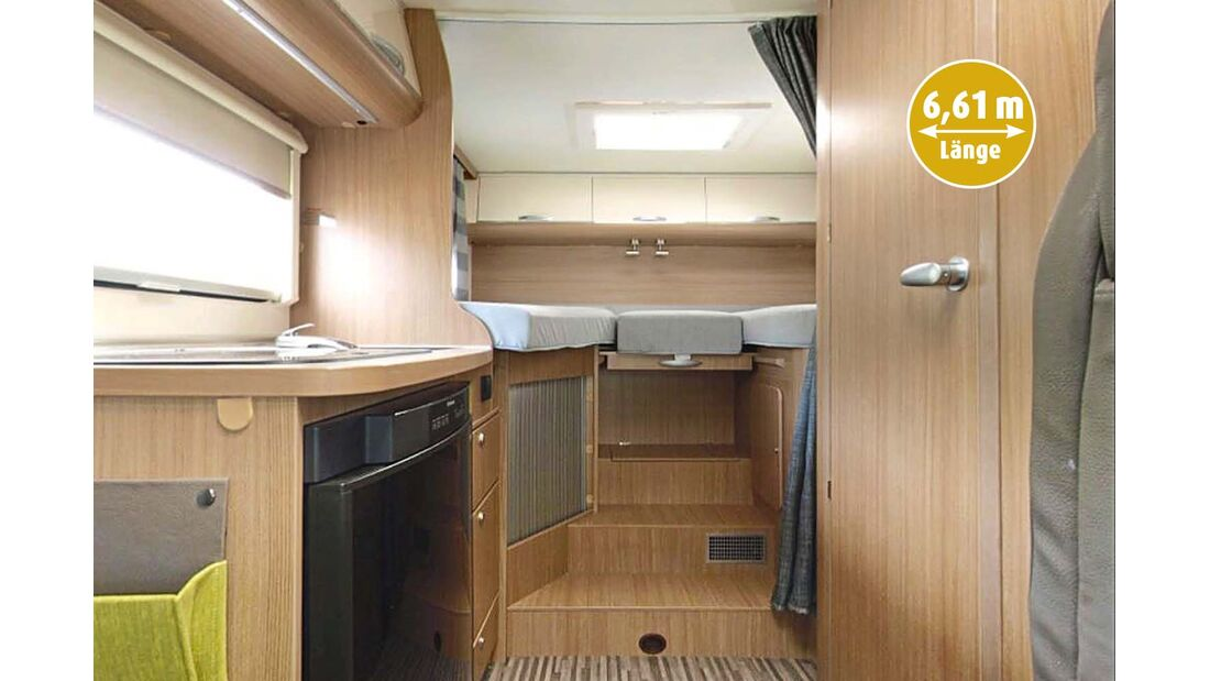 Einzelbetten beim Sun Living Lido S 42SL