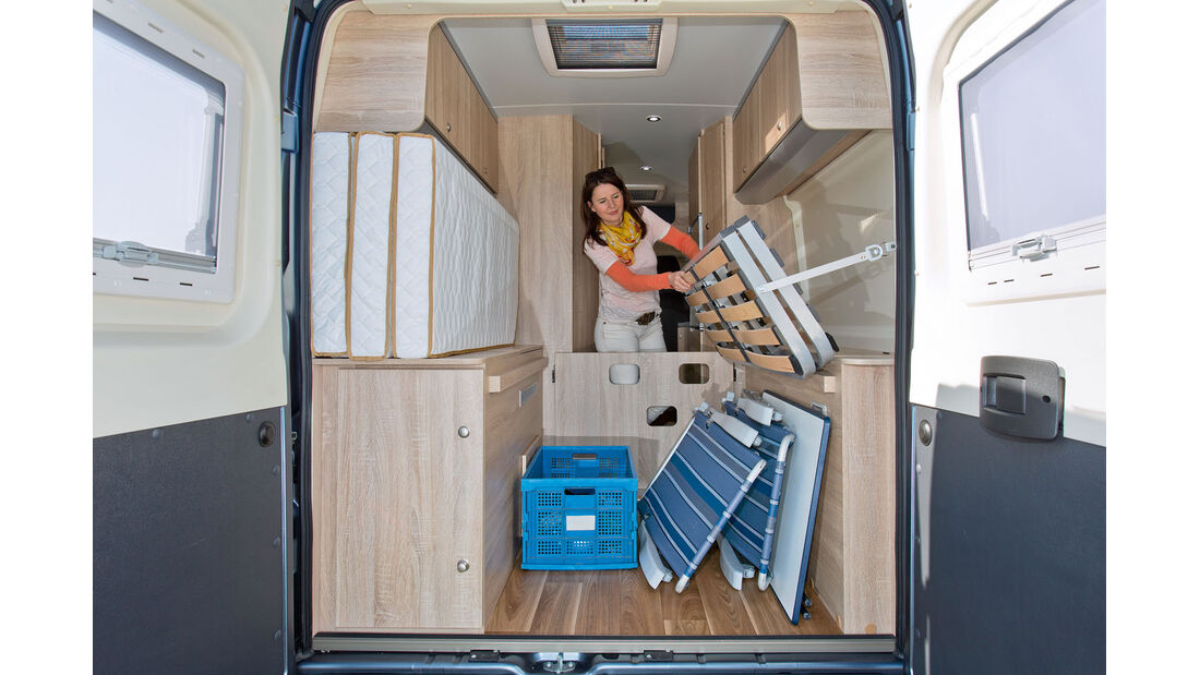 Einzeltest: Clever Drive 600, Gepäckraum