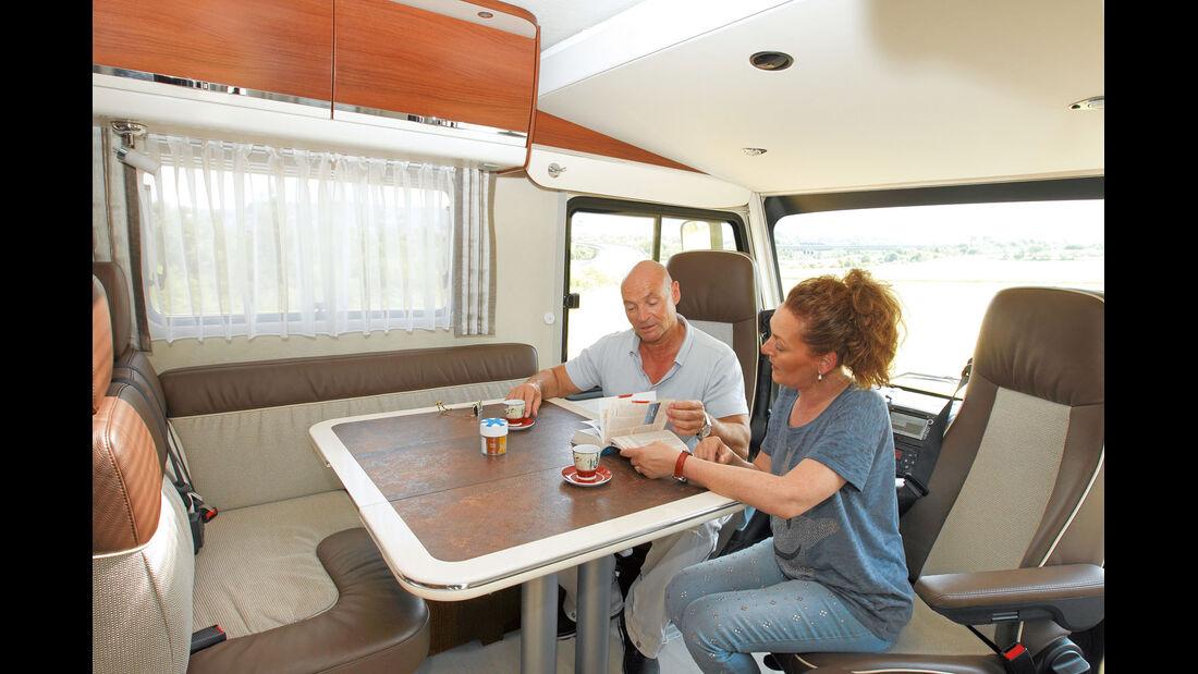 Einzeltest: Morelo Home 79 LX, Testwagen