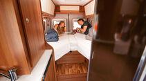 Einzeltest: Van-Tourer 630, Schlafzimmer