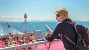 Elba island ferry in Covid-19 time