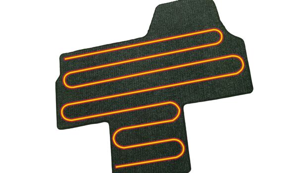 Elektrische Zusatzheizung Fußbodenheizung