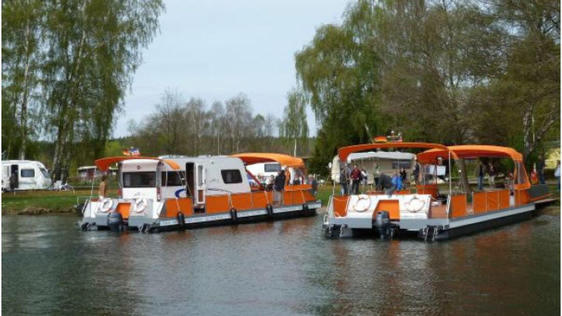 Endlich war es soweit: am 28. April 2012 wurden die ersten zwei an der Müritz stationierten Seecamper in Dienst gestellt.