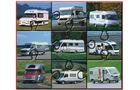 Entwicklung der Reisemobile-Außen-Designs Wohnmobile Reisemobile promobil