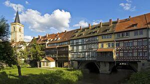 Erfurt Thüringen - Virtueller Spaziergang