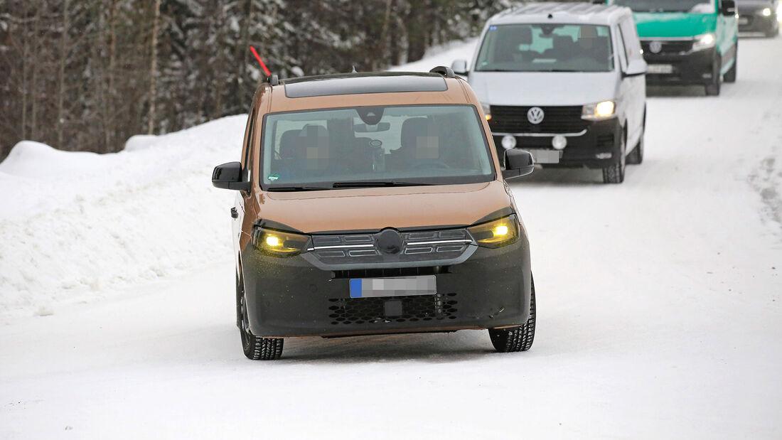 VW Caddy (2021): Neuer Hochdachkombi für Camper | Promobil