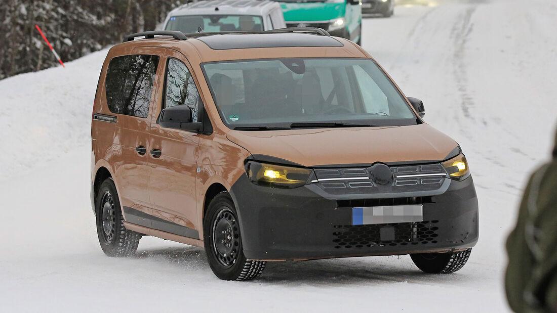 VW Caddy (2021): Neuer Hochdachkombi für Camper   Promobil