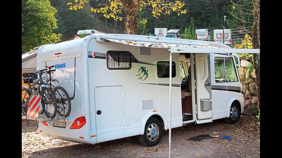 Erste Camping-Erfahrung sammelte eine Familie bei einer Italien-Reise und kam mit dem Knaus gut zurecht.