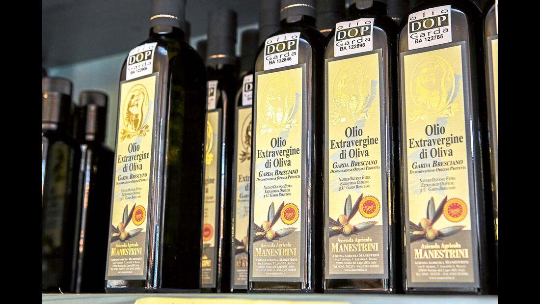 Erstklassiges Öl aus heimischen Oliven.