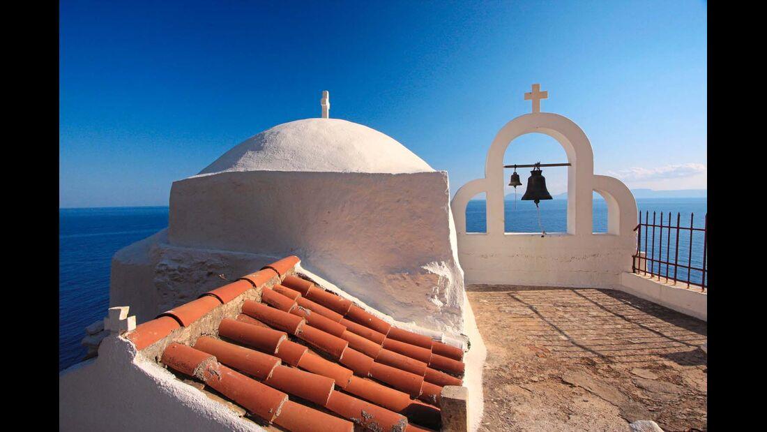 Es gibt Kapellen mit atemberaubenden Ausblick.