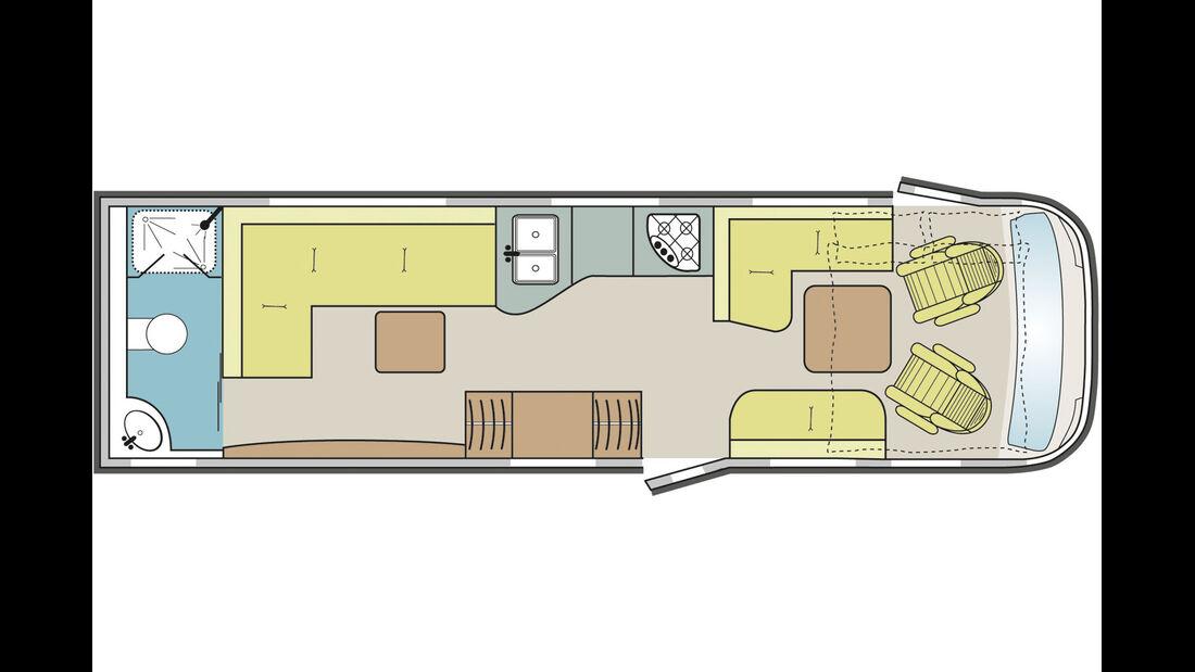 Ess- und ein separates Wohnzimmmer