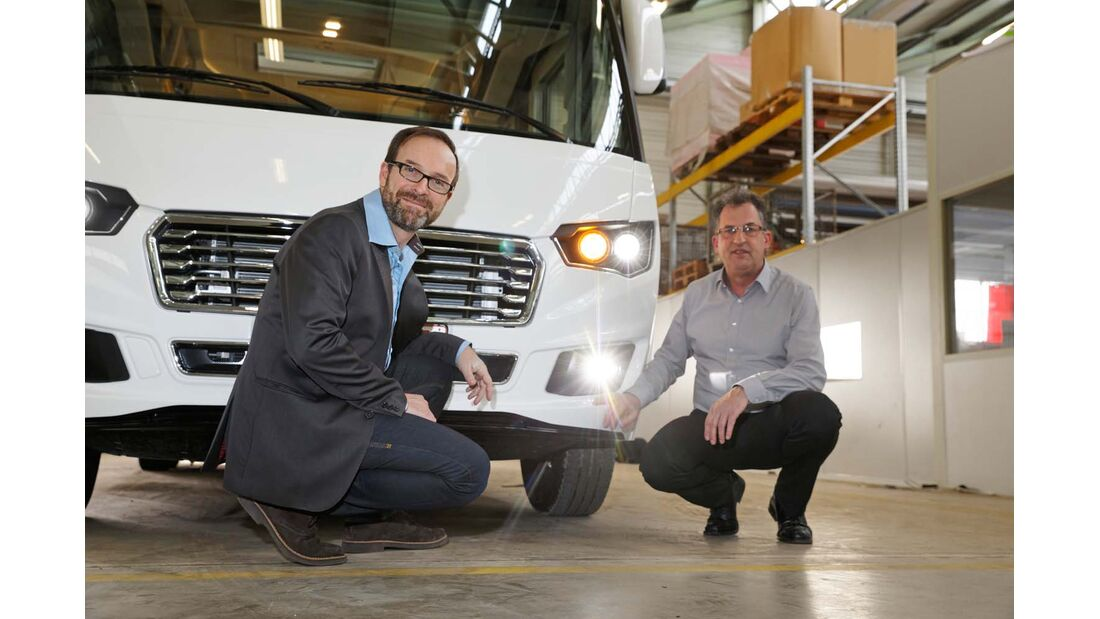 Eura Mobil Integra Frank Lessmann und Jürgen Kasper