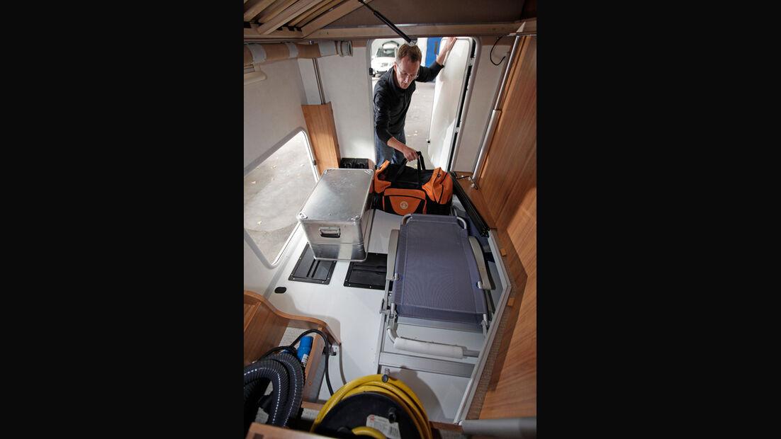 Euro Mobil Terrestra T 670 SBL Bettkasten