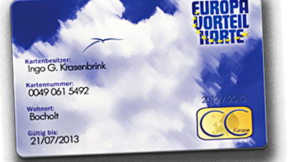 Europavorteilskarte