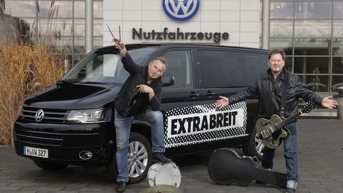 Extrabreit Weihnachtstournee im VW Bulli