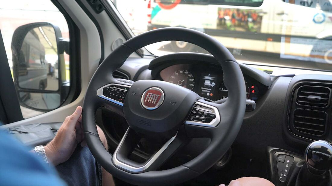 Facelift Fiat Ducato 2021