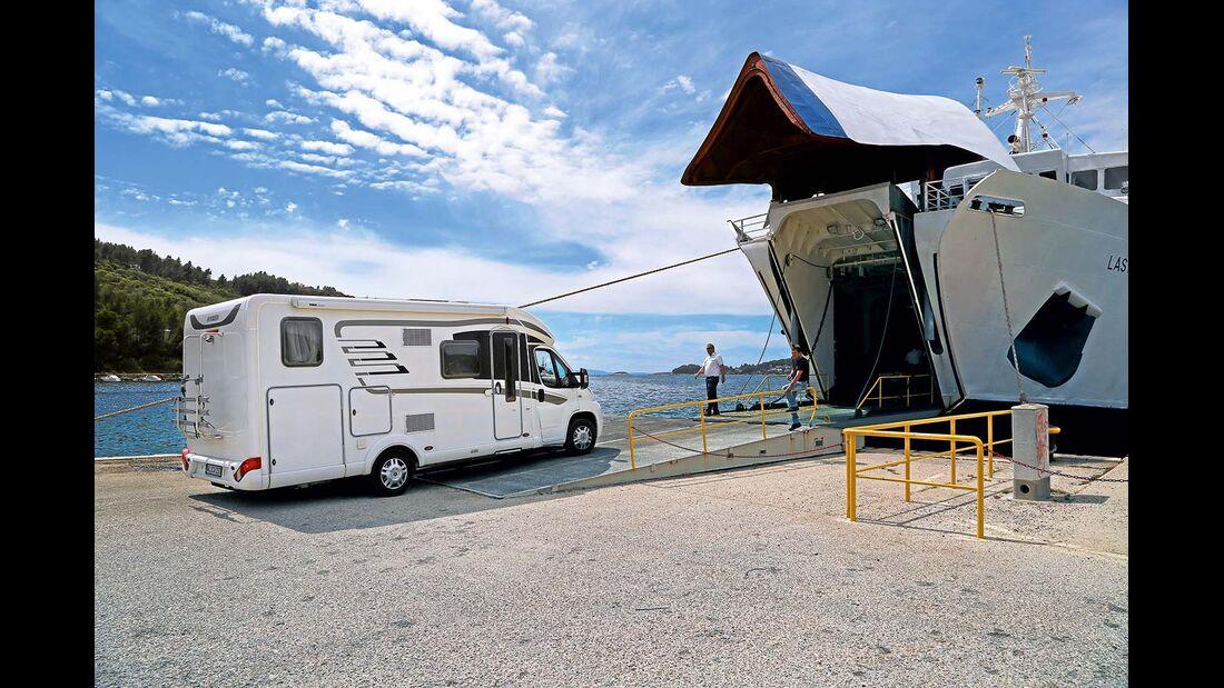 Fähre von Vela Luka auf Korc?ula nach Split