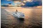 Fährschiff auf See