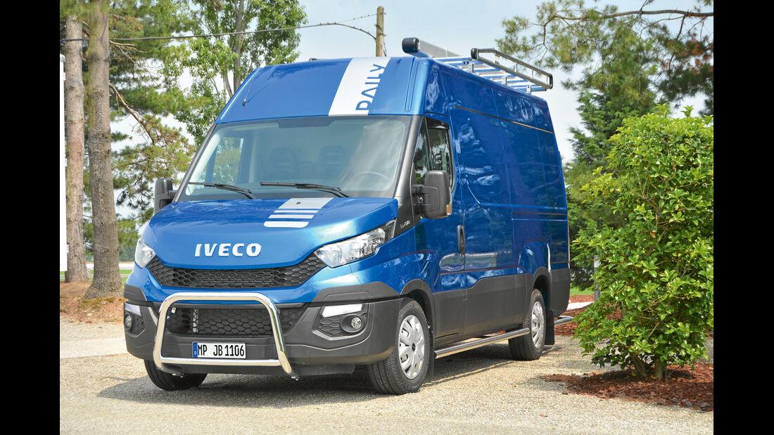 Fahrbericht: Iveco Daily, Frontbügel
