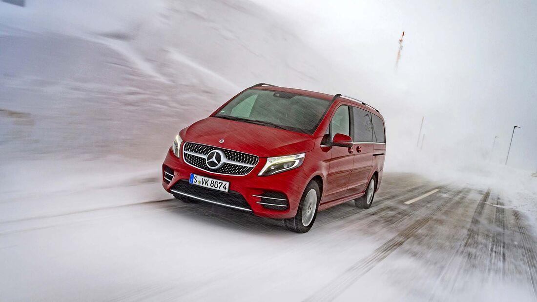 Fahrbericht Mercedes V-Klasse