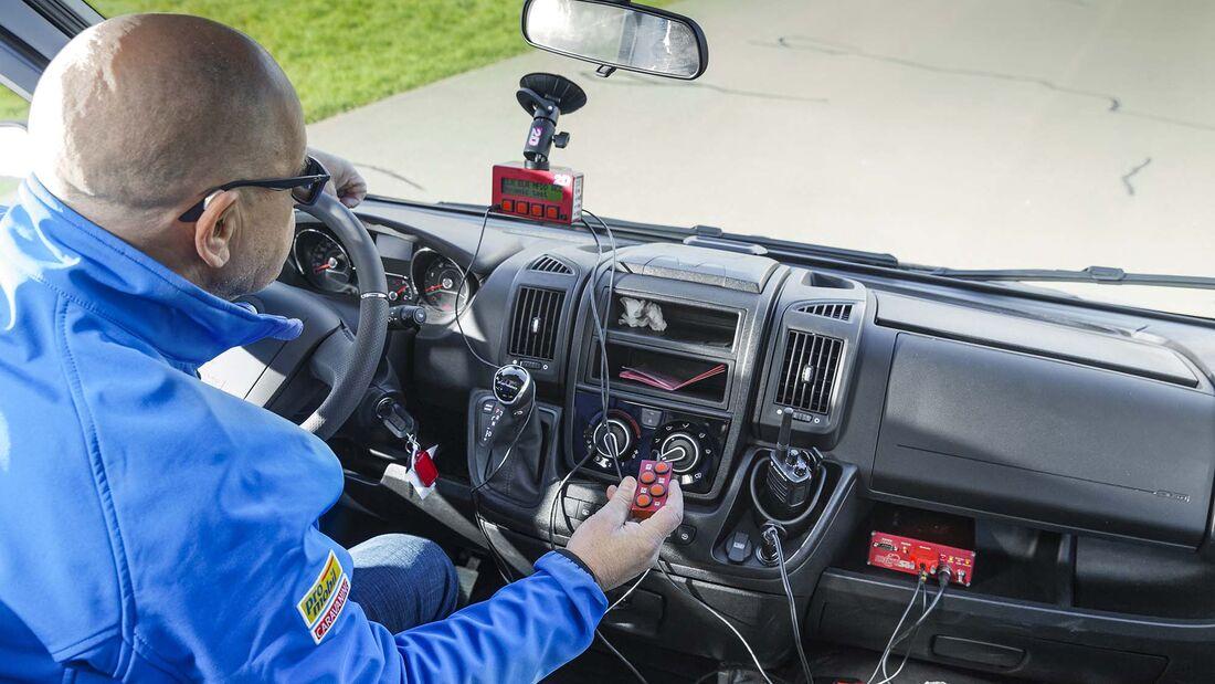 Fahrdynamik Fahrzeugtest