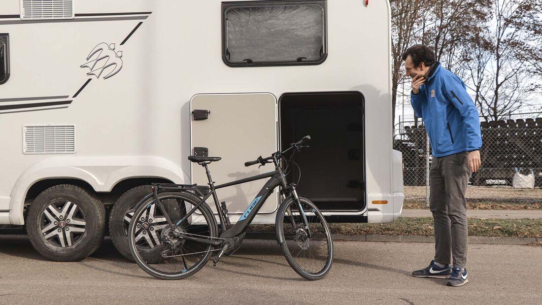 Fahrrad-Transport im Reisemobil