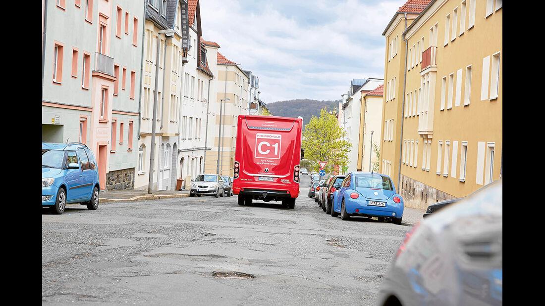 Fahrstunde in Gera